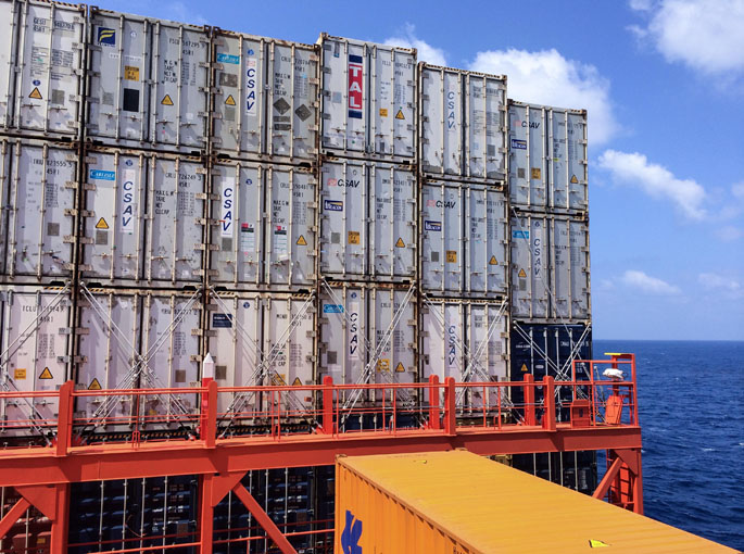 Container sind für den Welthandel unverzichtbar